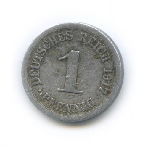1 пфенниг 1917 года А (Германия)