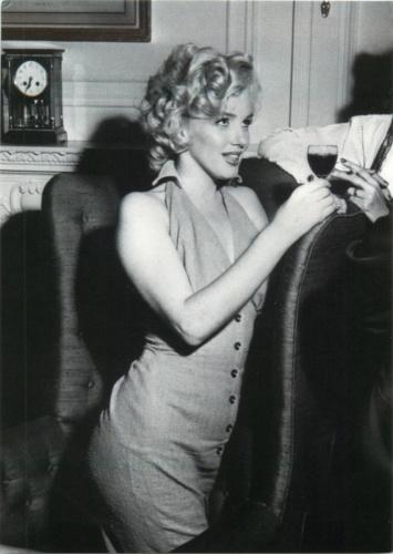 Карточка почтовая «Мэрилин Монро» (копия)