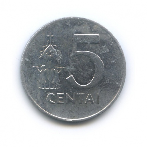 5 центов 1991 года (Литва)
