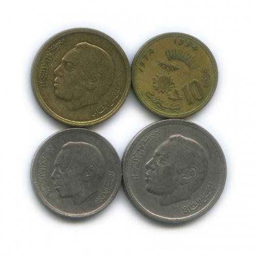 Набор монет 1974 года (Марокко)