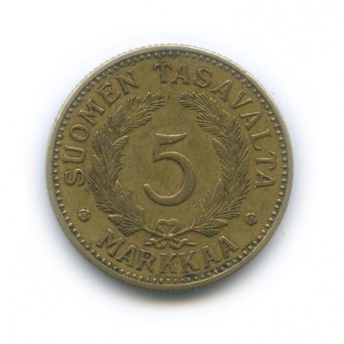 5 марок 1941 года (Финляндия)