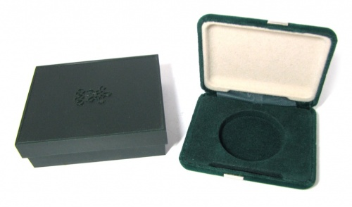 Футляр для монеты «Олимпийские игры - Биатлон» (4,5×4,5 см)