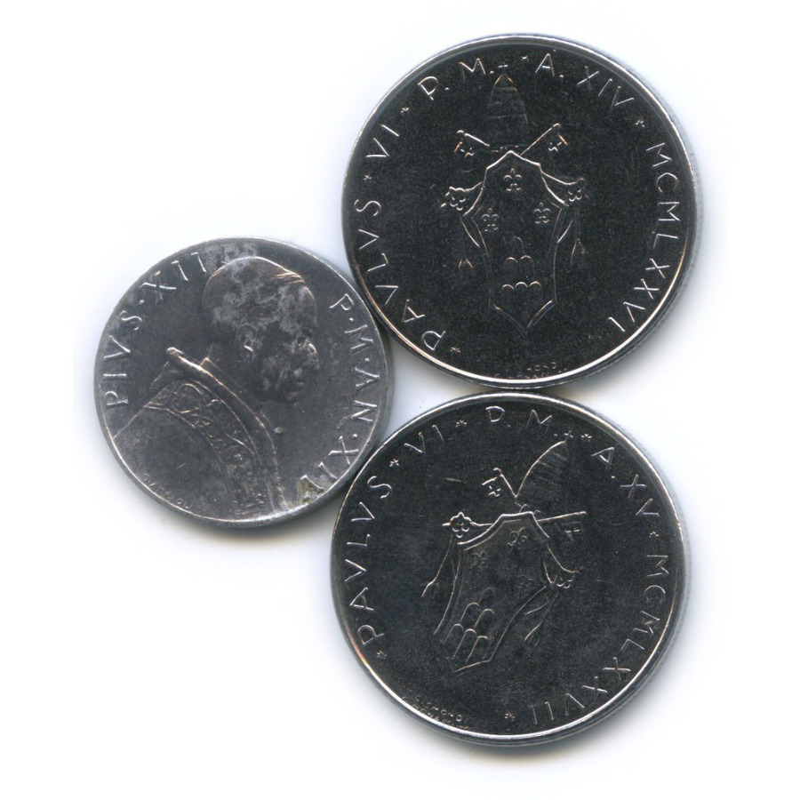 Набор монет (Ватикан)