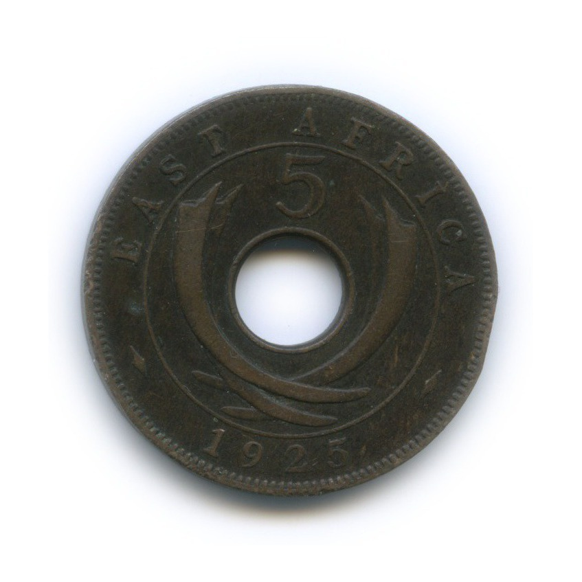 5 центов, Восточная Африка 1925 года