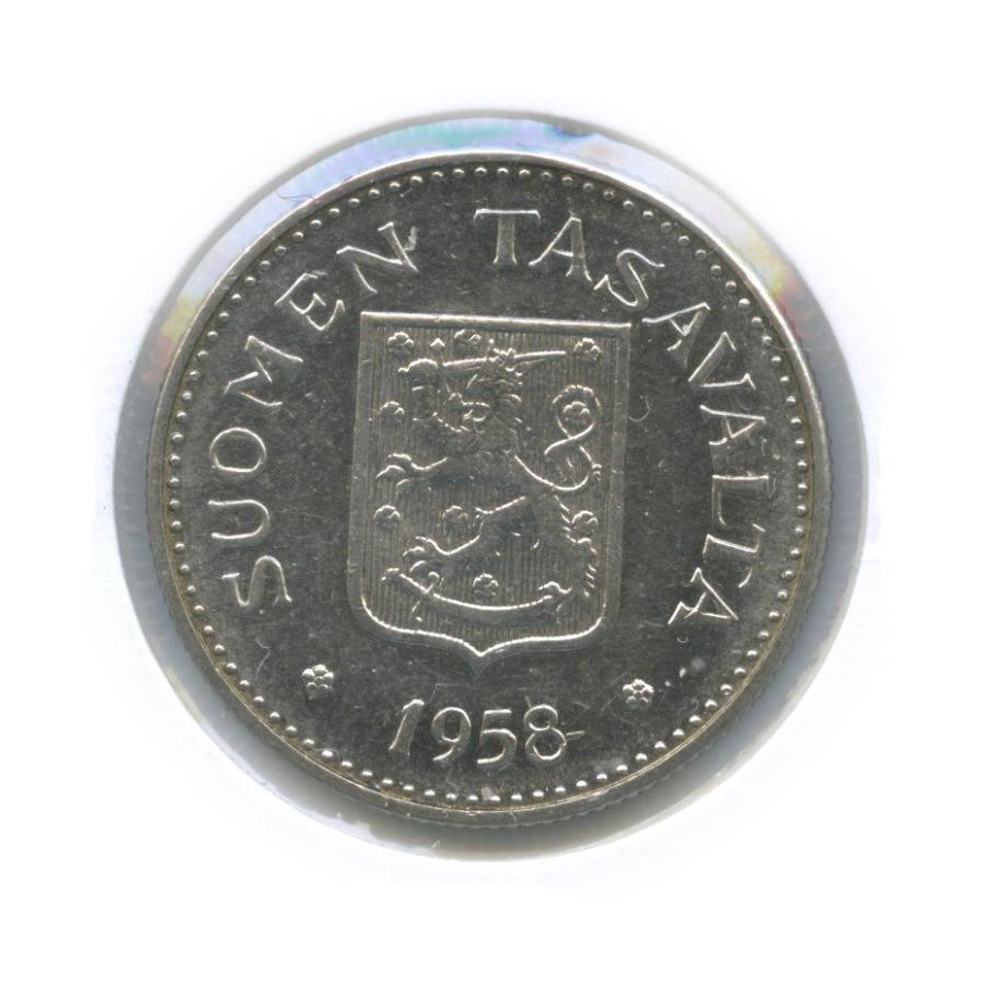 200 марок (в холдере) 1958 года H (Финляндия)
