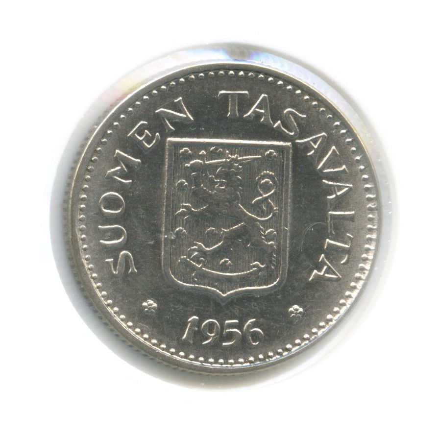 200 марок (в холдере) 1956 года (Финляндия)