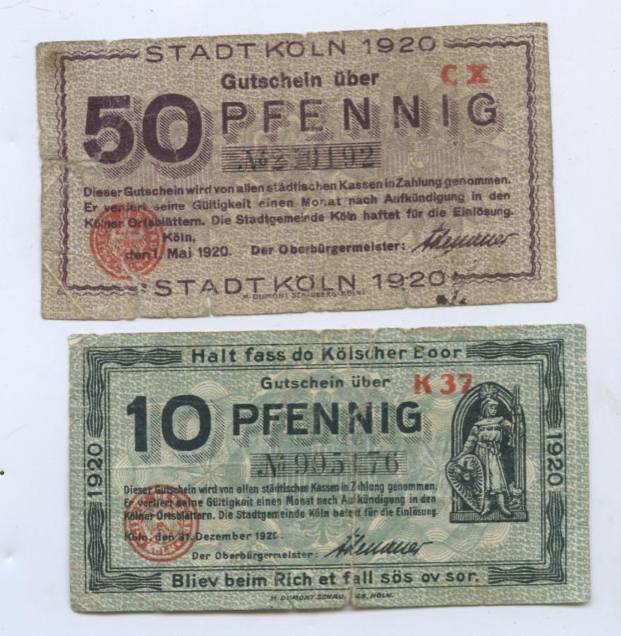 Набор банкнот 1920 года (Германия)