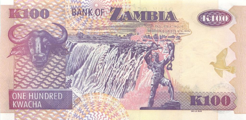 100 квача (Замбия) 2008 года