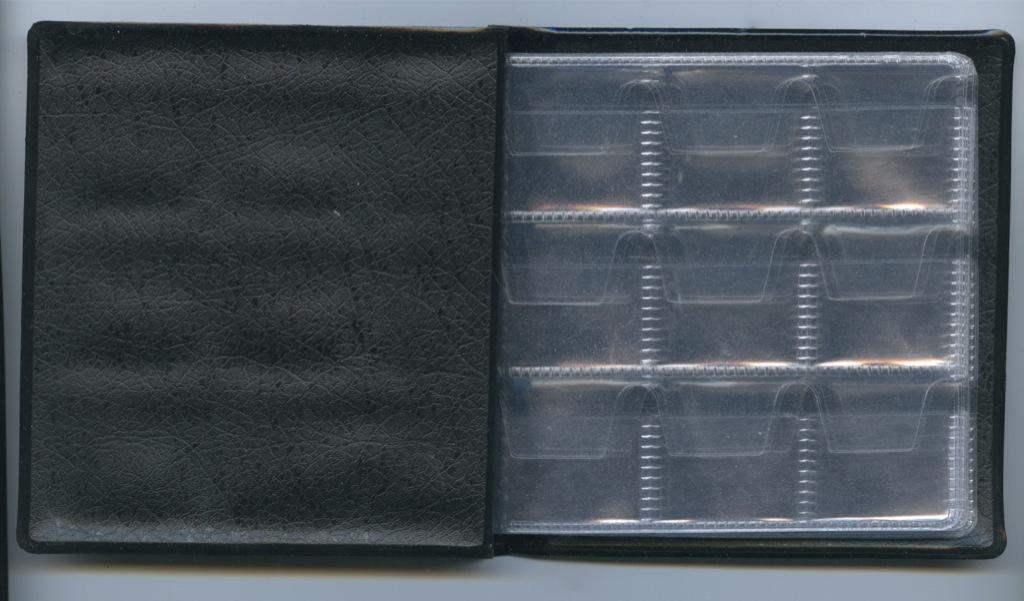 Альбом для монет (52 комбинированные ячейки)