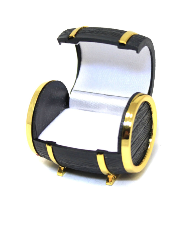 Коробочка для кольца «Бочка» (5×4 см)