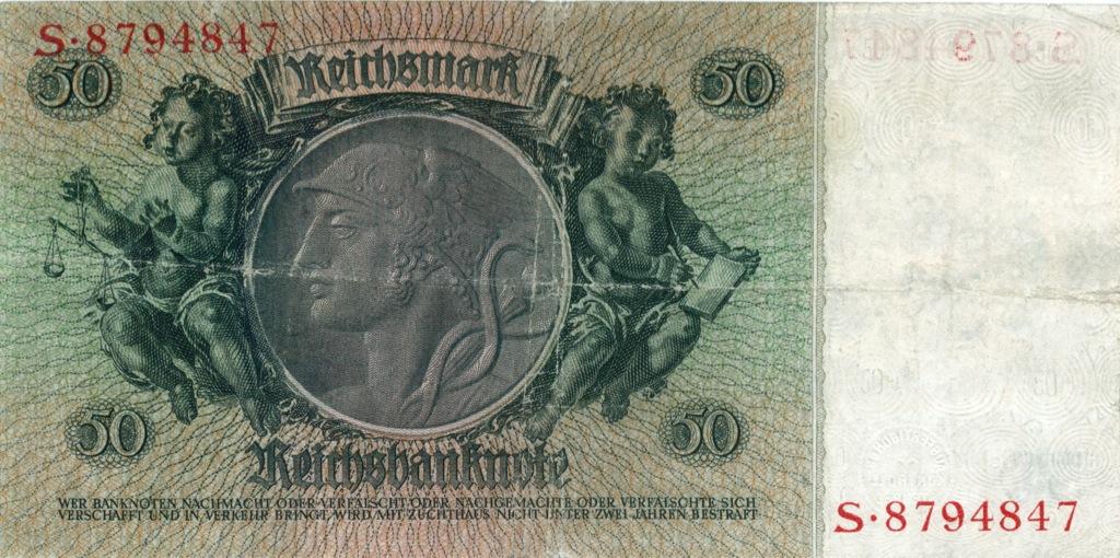 50 рейхсмарок 1933 года (Германия)