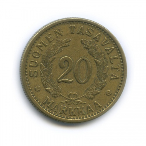 20 марок 1938 года (Финляндия)