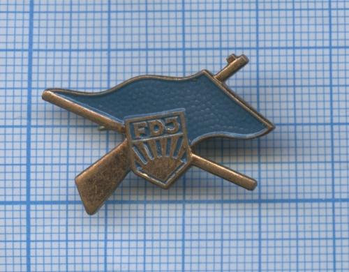 Знак «FDJ» (Германия (ГДР))