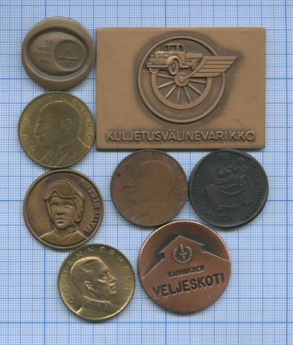 Набор жетонов (Финляндия)