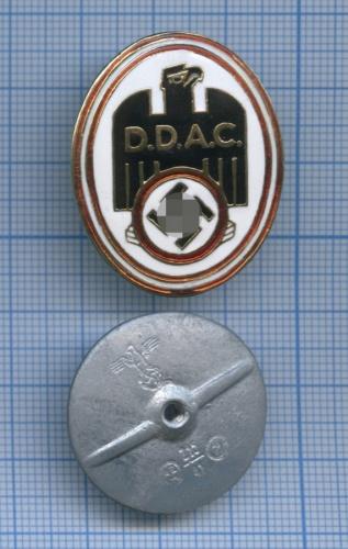Знак «D.D.A.C.» (копия) (Германия (Третий рейх))