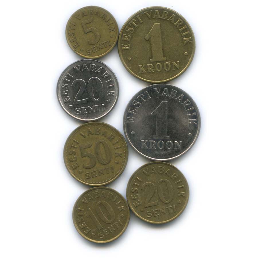 Набор монет (Эстония)