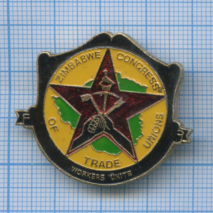 Знак «Zimbabwe Congress of Trade Unions»