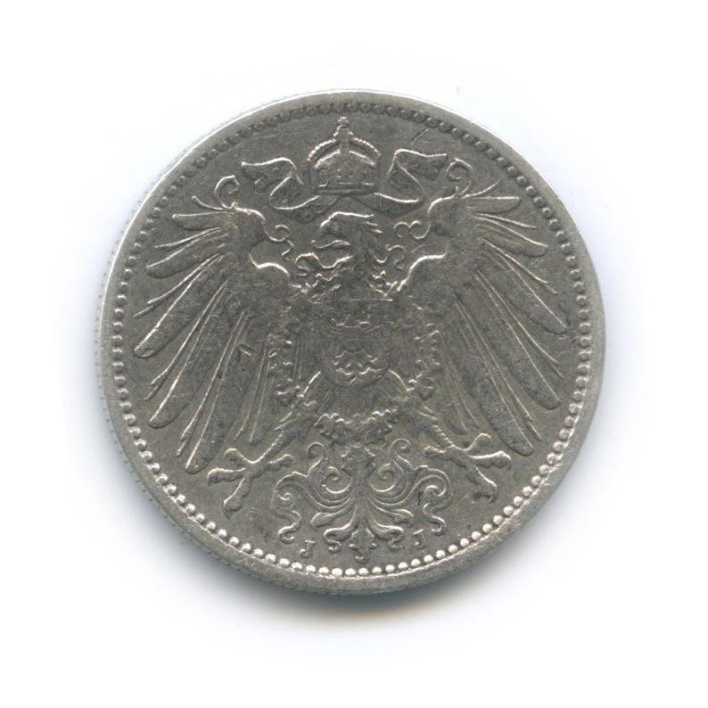 1 марка 1907 года J (Германия)