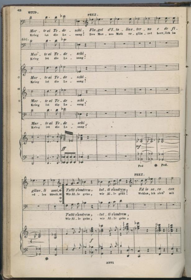 Нотная книга «Джузеппе Верди» (294 стр.) (Италия)