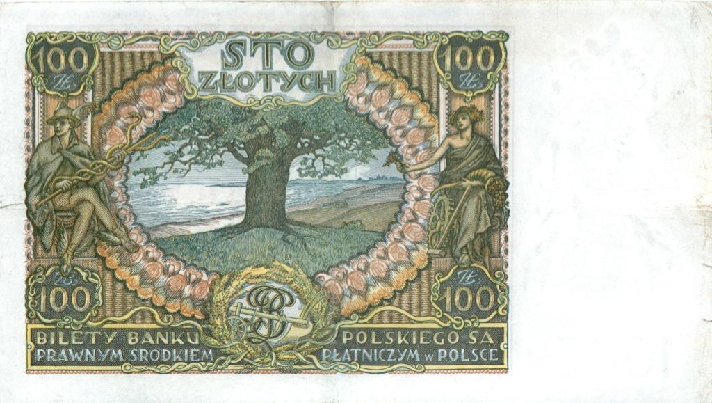 100 злотых 1934 года (Польша)