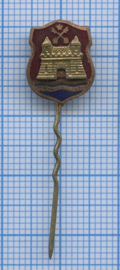 Значок «Герб Риги» (тяжелый) (Латвия)