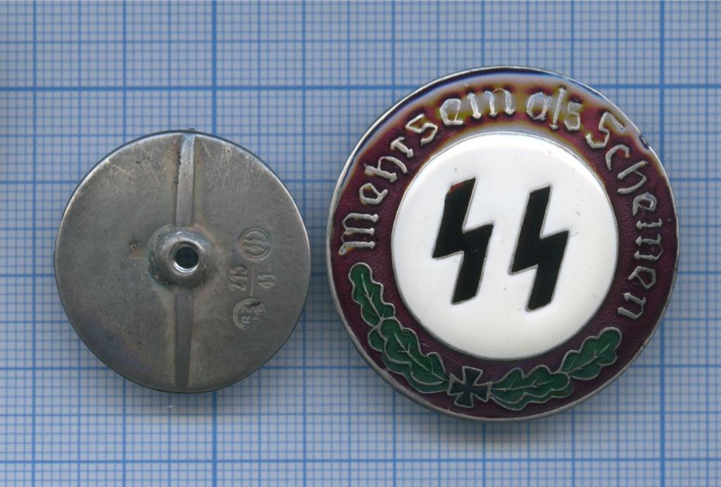 Знак «Mehr Sein als scheinen» (копия) (Германия (Третий рейх))