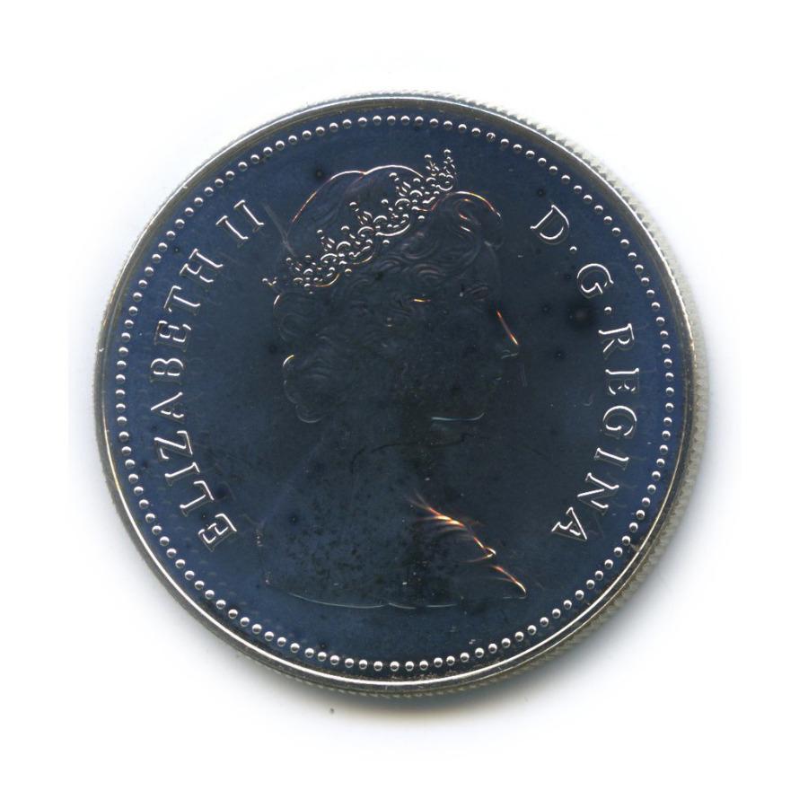 1 доллар - Арктические территории - Белый медведь 1980 года (Канада)