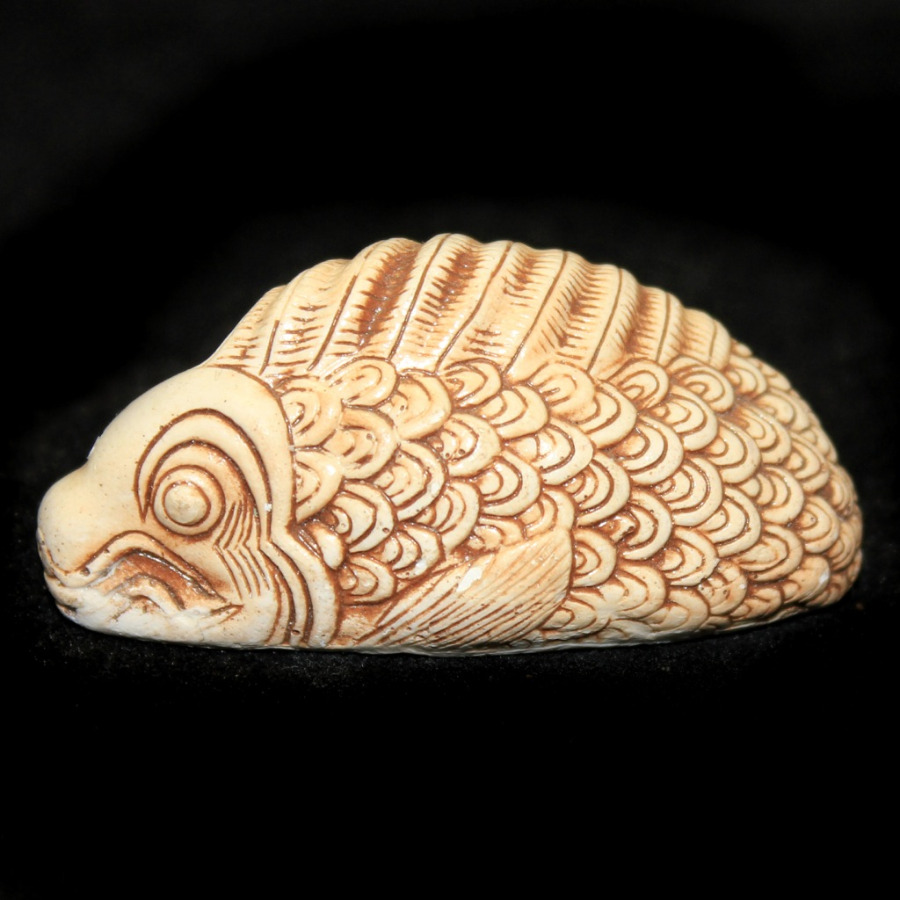 Фигурка-нэцкэ «Рыбы» (длина 5 см)