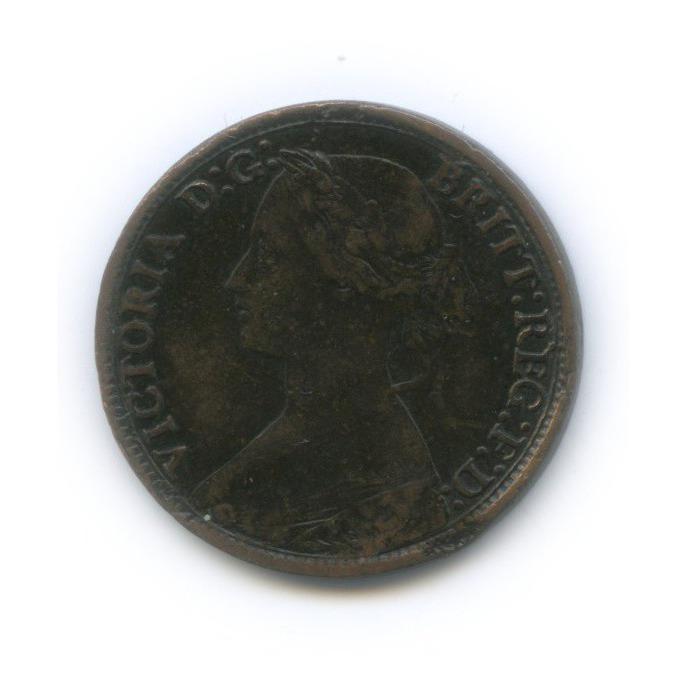 1 фартинг - Королева Виктория 1864 года (Великобритания)