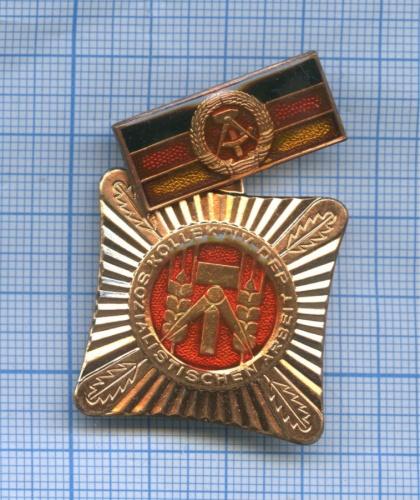 Знак «Sozialistisch arbeiten lernen und leben» (Германия (ГДР))