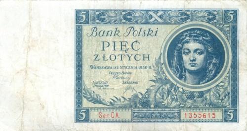 5 злотых 1930 года (Польша)
