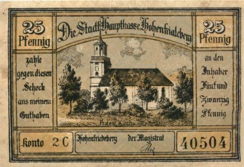 25 пфеннигов (нотгельд) (Германия)