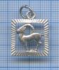 Подвеска «Козерог» (серебро 925 пробы, 1,66 гр)
