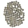 Набор монет 1 копейка (185 шт) 1997-2008 ММД, СПМД (Россия)