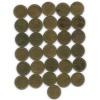 Набор монет 1 копейка (разные года, без 1964 года) 1961-1991 (СССР)