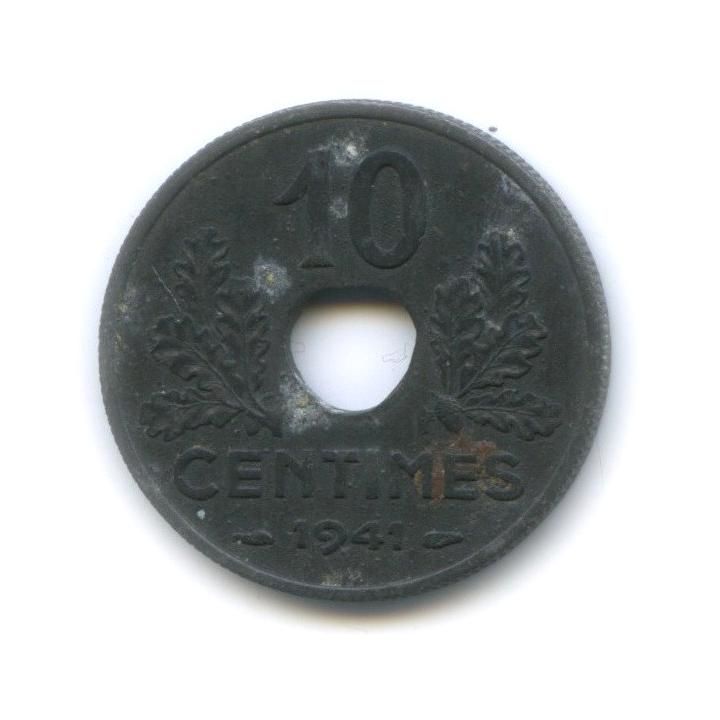 10 сантимов 1941 года (Франция)