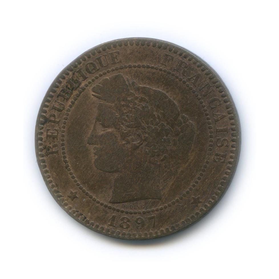 10 сантимов 1897 года (Франция)