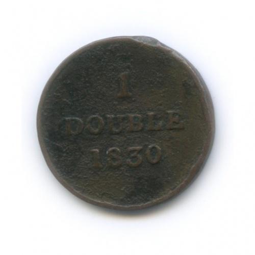 1 дубль, Гернси 1830 года