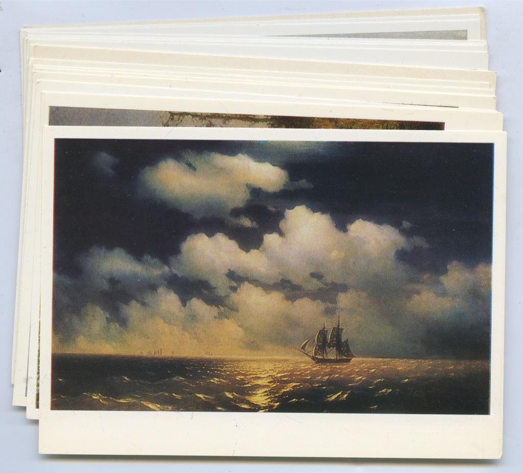 Картинки прикольные, набор открыток с живописью