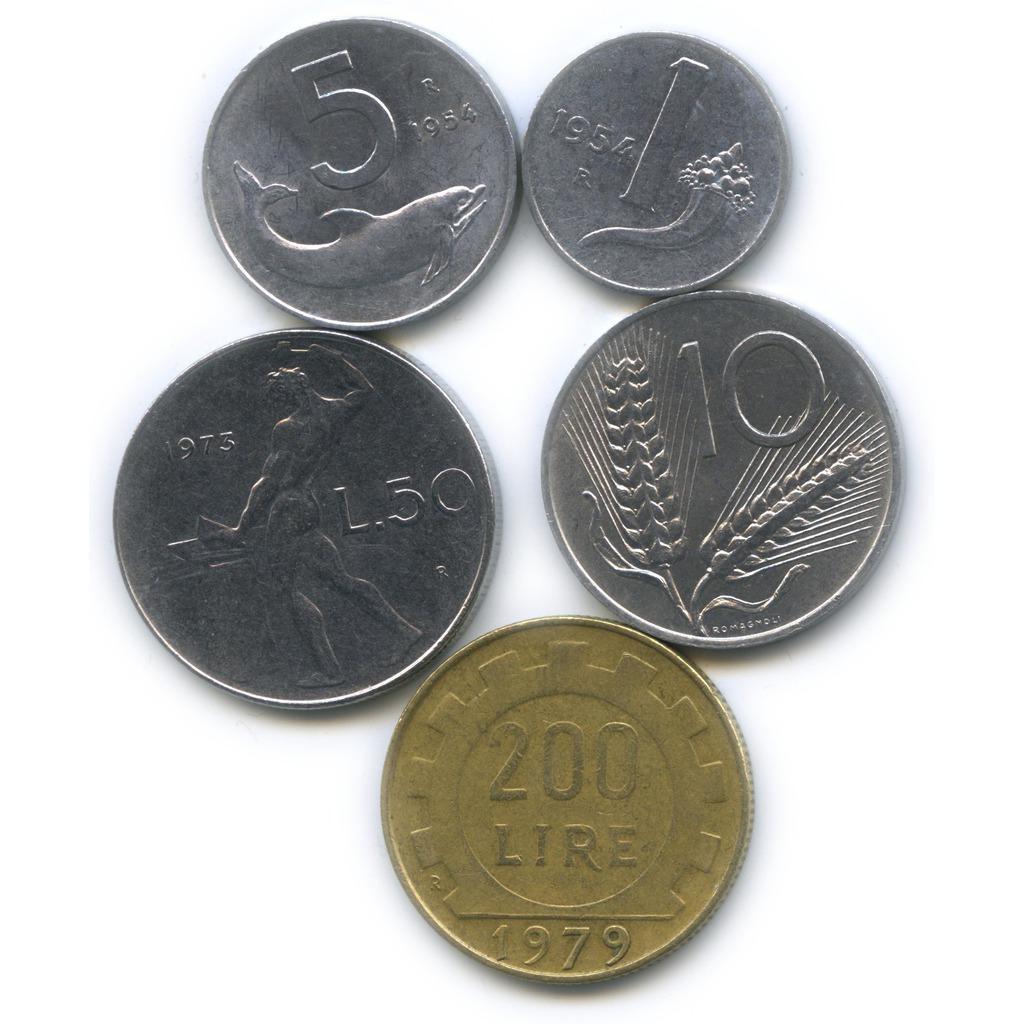 монеты италии фото однажды