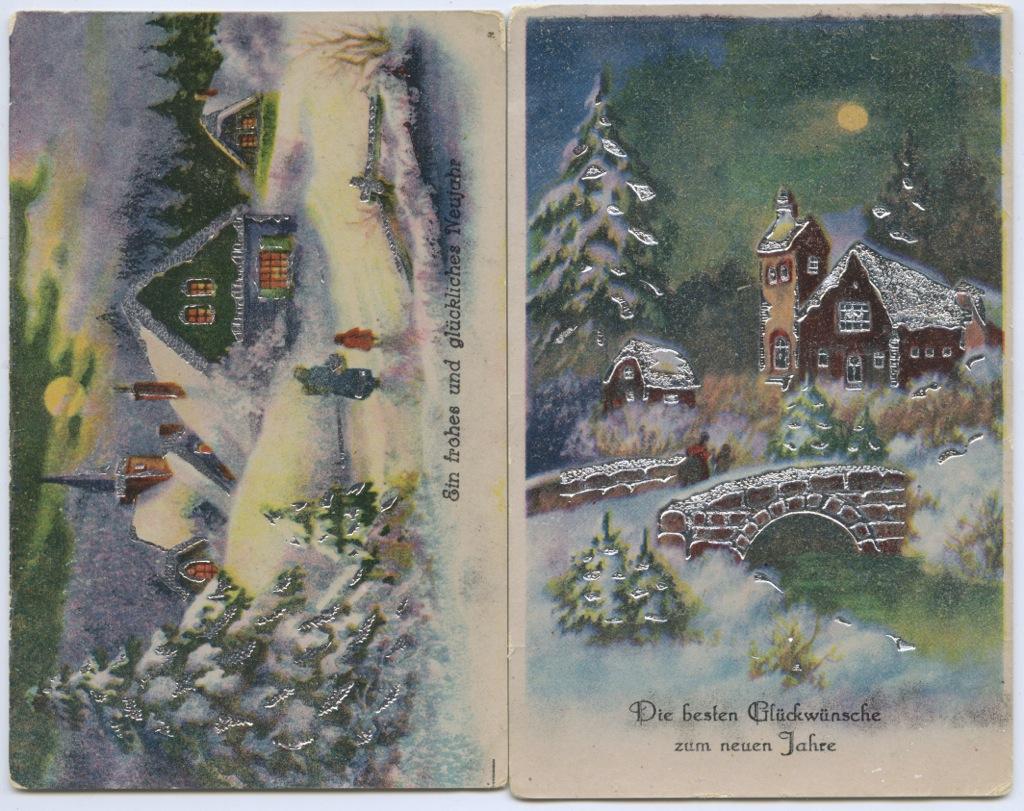 Повышением службе, издательства открыток германия