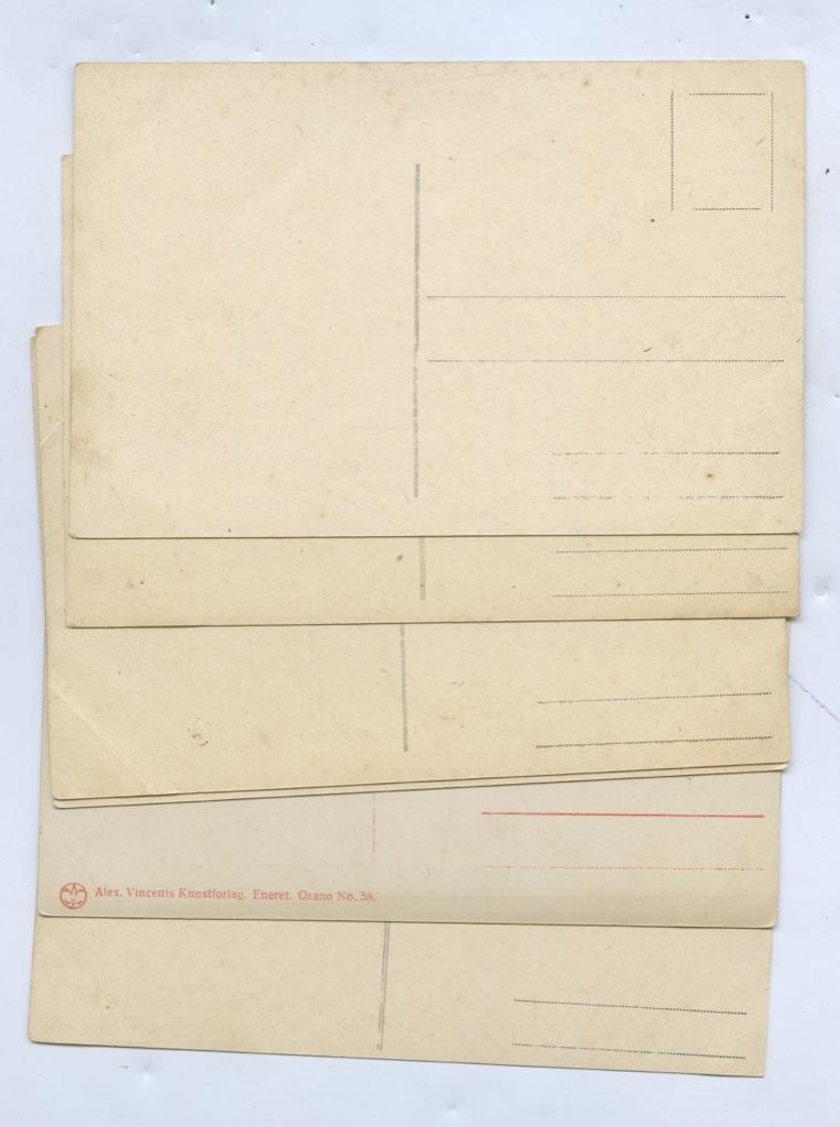 Набор почтовых карточек (6 шт.) (Италия)