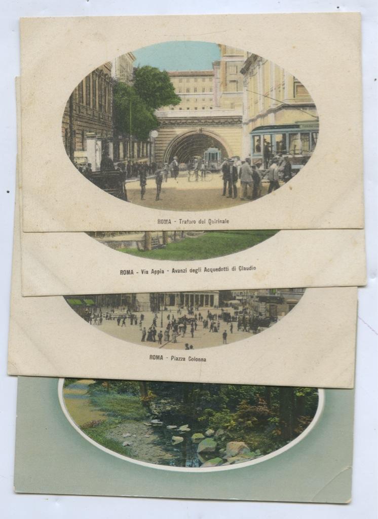 Набор почтовых карточек (Германия, Италия)
