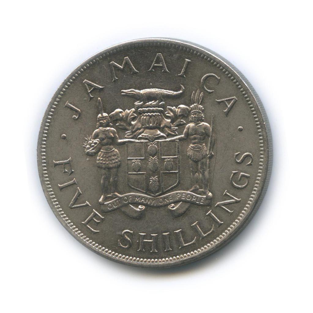 5 шиллингов— VIII Игры Содружества 1966 года (Ямайка)