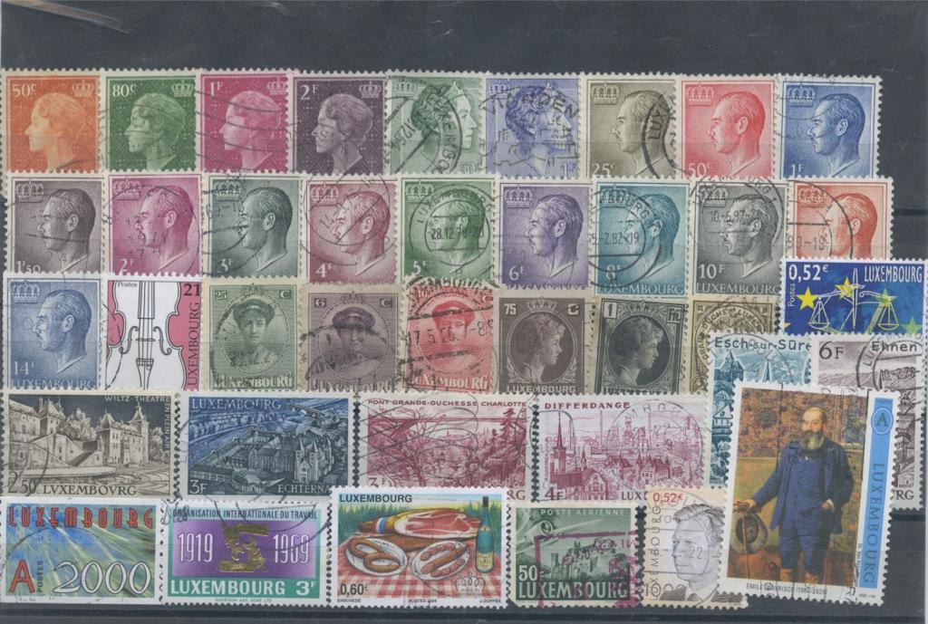 Набор почтовых марок (Люксембург)