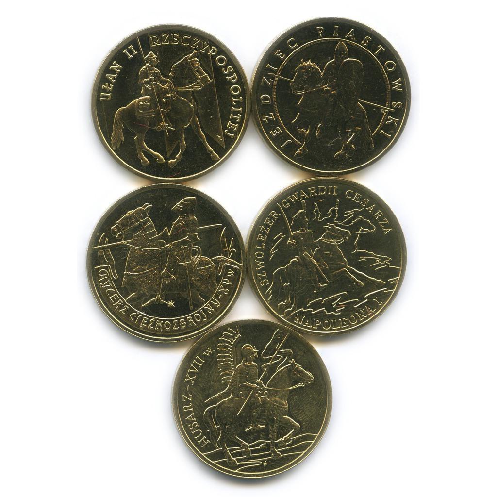 Набор монет 2 злотых— История польской кавалерии (Польша)