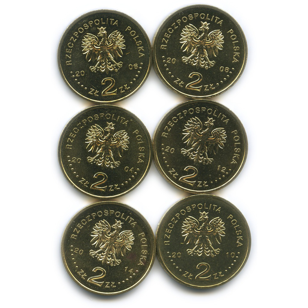 Набор монет 2 злотых— Олимпийские игры (Польша)