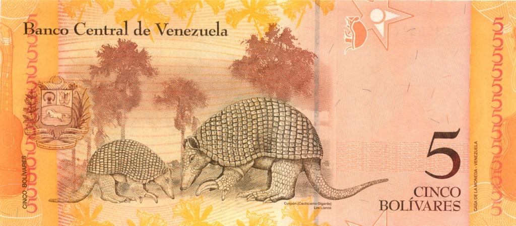 5 боливаров 2007 года (Венесуэла)