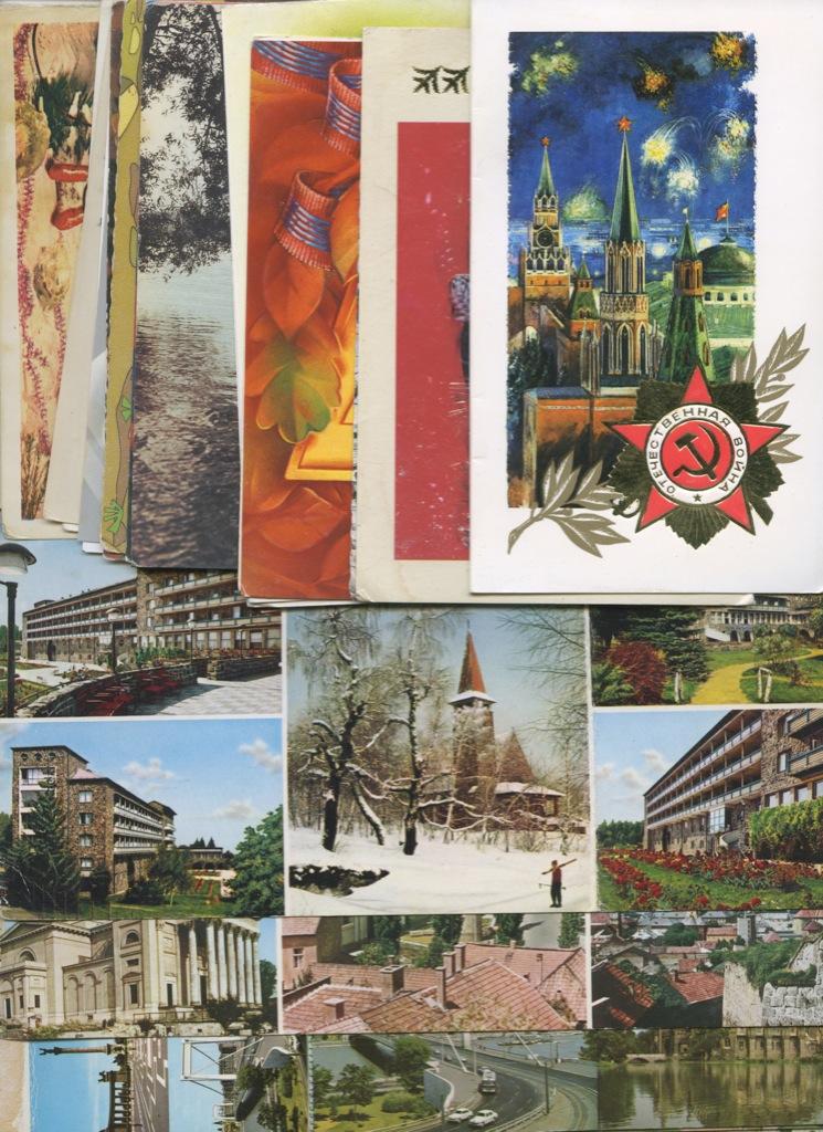 Набор открыток курортами