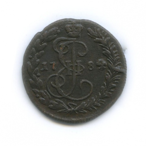 Денга (½ копейки), Биткин R 1784 года КМ (Российская Империя)